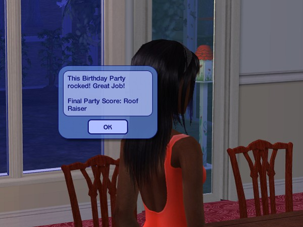 My birthday party was another Roof Raiser!
