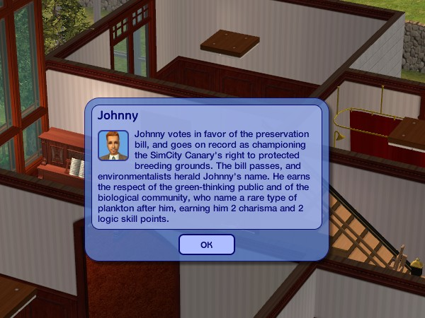 Johnny changes jobs