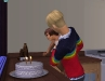 ...blowing out the candles...