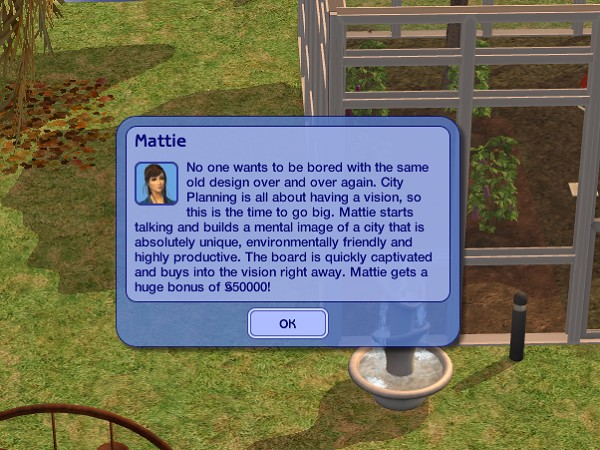 Woot! Big Bonus for Mattie!