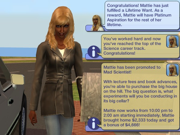 Mattie reaches the top of her second career