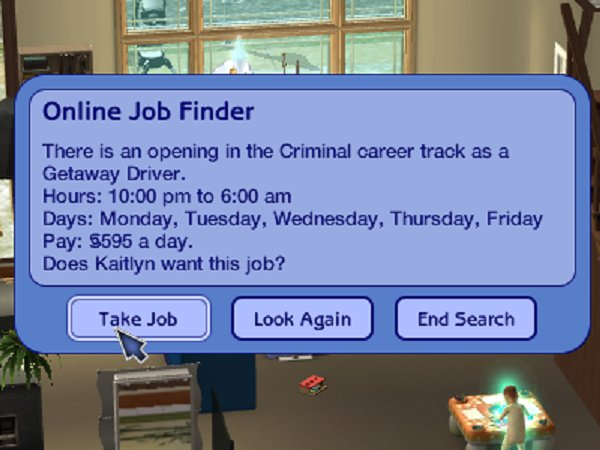Kaitlyn changes job...