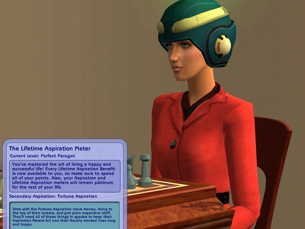 Kaitlyn Hale (nee Starke) reaches max lifetime aspiration...
