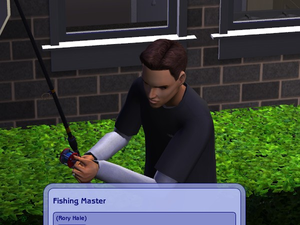 Rory gets his Fishing badge