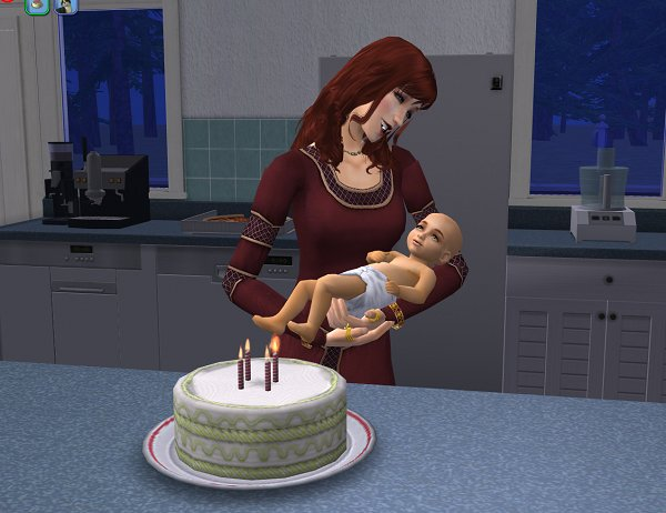 Inara's first birthday